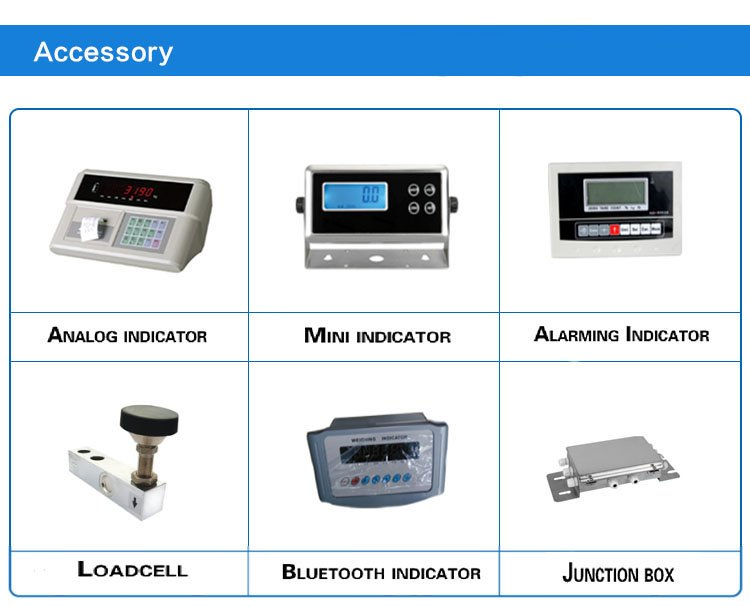 Shanghai Company 10 Ton Industrial Platform Electronic Floor Scale With Printer Supplier Price