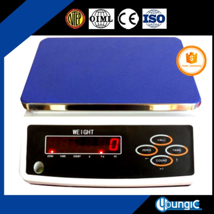 30KG Electronic Computing Table Top Balance Scale With RS232 Price