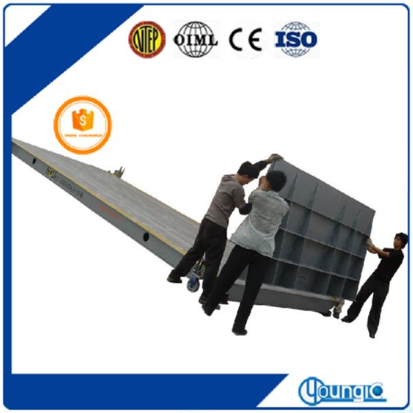 portable 30t electronic vehicle weighbrdge
