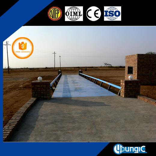 100 Ton Used Electronic Pitless Truck Weighbridge Scale No Pit Weighbridge Factory Export
