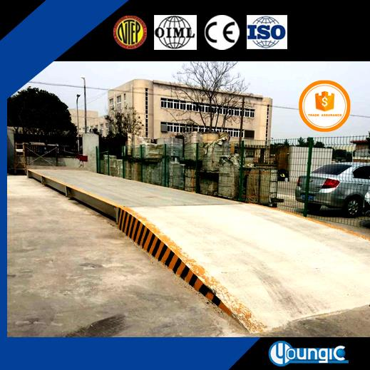 100 Ton Sell Well Used Pit Weighbridge Scale Manufacturers In Shanghai