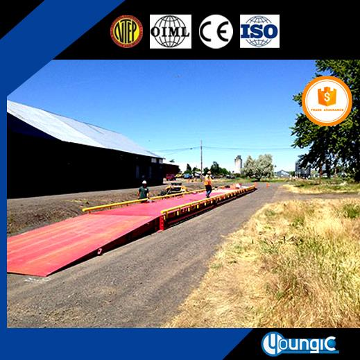 100 Ton Compression Load Weighbridge China Manufacturing For Sale