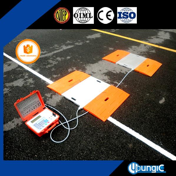 Chinese 100 Ton Digital Portable Lorry Axle Scale