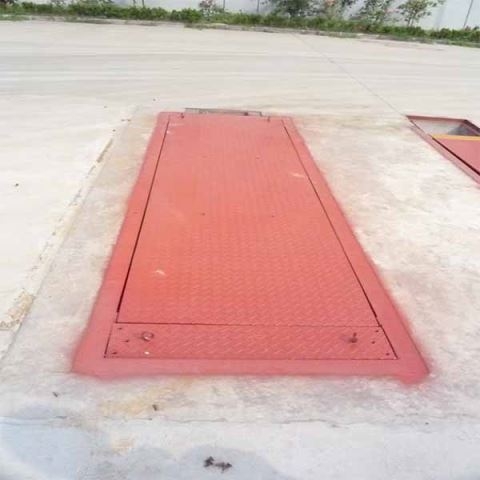 80 Ton Hand Static Truck Axle Scales