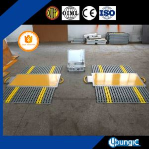 Hangzhou Electronics Market 50 Ton Trucks Axle Weighbridge Scale Chinese Supplier Factory Export