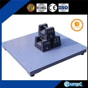 Portable Uline Floor Weight Scale with Ramp