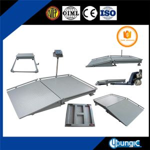 U Type Low Profile Floor Pallet Scale