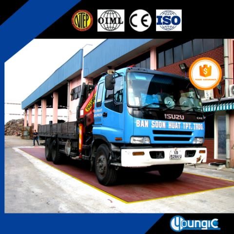 120 Ton Used China Suppliers Cheap Pitless Truck Weighbridge Scale