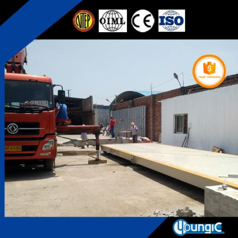 100 Ton Pit Road Weighbridge Manufacturer In China