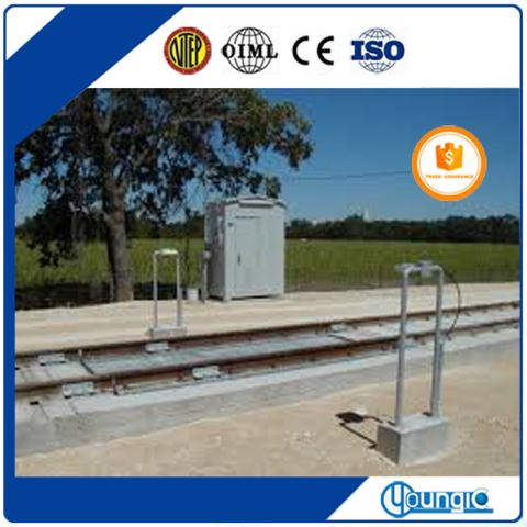 100 Ton Electronic Track Transportation Scale Factory Export