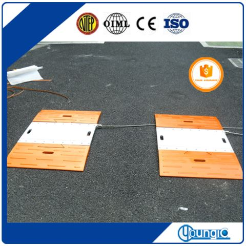 China Convenient Vehicle Axle Weighing Scale For Sale