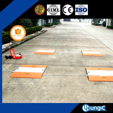 60 Ton Used Convenient Truck Electronic Axle Scale Manufacturing