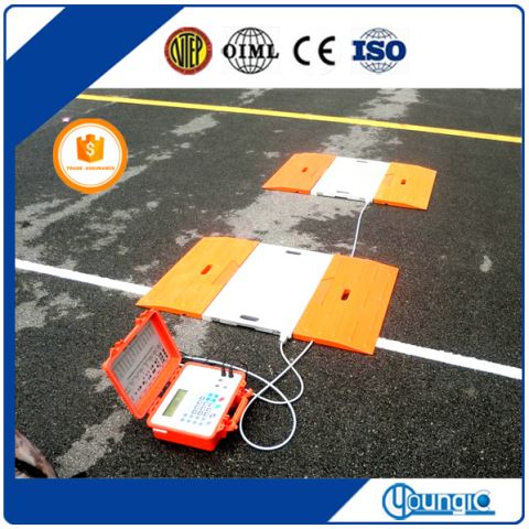 Chinese Supplier 80 Ton Electronic Convenent Truck Axle Weighing Scale For Sale