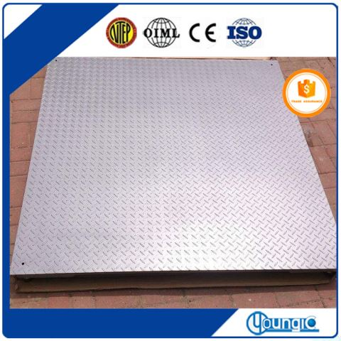 China Used 5000Ib Digital Heavy Duty Floor Scale Factory Export