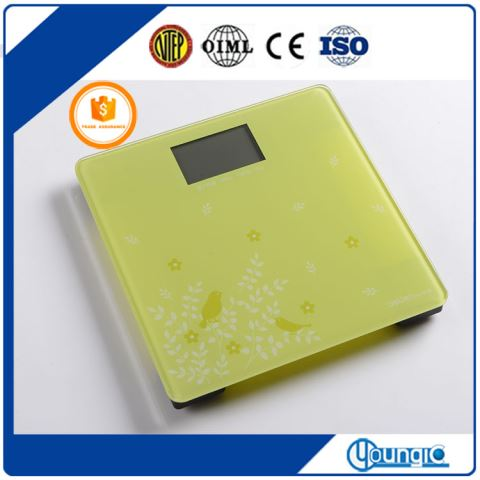 YCH8019-2 2017 Shanghai Best Digital Personal Bathroom Weight Scale Weight Machine