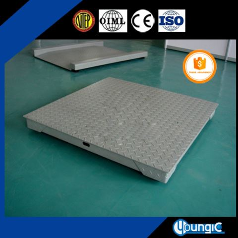 China 5 Ton U Type Platform Weighing Floor Scale Machine
