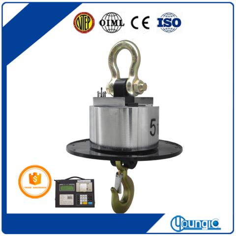 Shanghai 1000KG Wireless Electronic Hanging Weight Scale Factory Export
