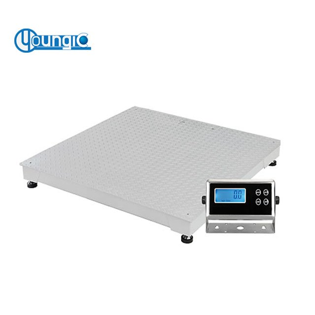 Shanghai Company 3 Ton 5 Ton 10 Ton Industrial Platform Electronic Floor Scale With Printer Supplier Price